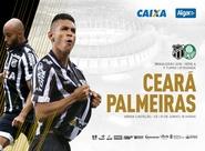 Em reencontro de Lisca com torcida alvinegra, Ceará enfrenta o Palmeiras no Castelão