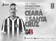 Invicto no Nordestão, Ceará recebe o Santa Cruz na Arena Castelão