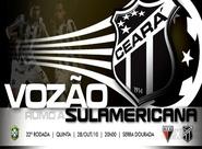 Para manter boa fase, Ceará encara Atlético/GO
