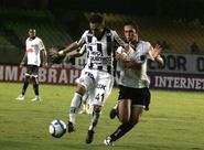 Ceará domina, mas não sai do 0 x 0 contra Atlético/MG