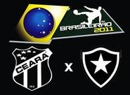 Em situações parecidas, Ceará x Botafogo se enfrentam hoje