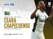 Em confronto direto, Ceará recebe a Chapecoense na Arena Castelão