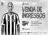 Copa do Nordeste: Confira informações sobre venda de ingressos para Ceará x Fortaleza