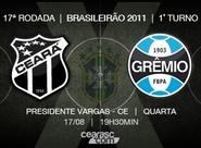 Com retrospecto equilibrado, Ceará x Grêmio se enfrentam hoje