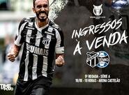 Ceará x Grêmio:  Confira as informações sobre a venda de  ingressos