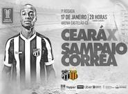 Copa do Nordeste: Ceará estreia contra o Sampaio Corrêa na Arena Castelão