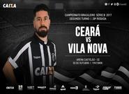 Vale vaga no G4! Ceará recebe o Vila Nova na Arena Castelão