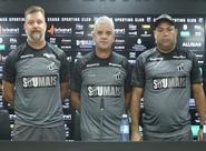 Staff técnico de Enderson Moreira é apresentado em Porangabuçu