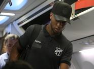 Ceará embarca para o Rio de Janeiro, onde enfrentará o Botafogo