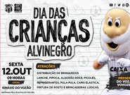 Ceará promove o Dia das Crianças Alvinegro nessa sexta-feira