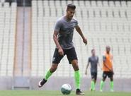 Técnico Sérgio Soares comanda treino fechado na Arena Castelão