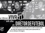 """Viva um """"Dia de Diretor de Futebol do Vozão"""""""