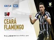 Brasileirão: Ceará e Flamengo se enfrentam hoje na Arena Castelão