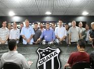 Em entrevista coletiva, Robinson de Castro anuncia nova diretoria