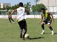 Manhã de treino no Carlos Alencar Pinto