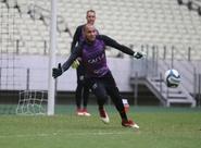 Visando partida contra o Salgueiro, Marcelo Chamusca realiza treino integrado no Castelão