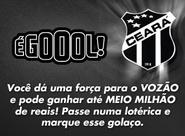 É GOL: mais uma forma de mudar de vida e ajudar o Ceará