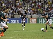 No Castelão, Ceará começa atrás, mas reage bem e empata contra o Palmeiras