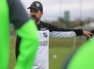 Enderson Moreira e Valdo concedem últimas coletivas antes do jogo contra o Botafogo
