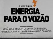 Energia para o Vozão: colabore para construção do Ginásio e projetos sociais
