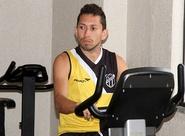 Recuperado de lesão na coxa, Eusébio inicia trabalhos de força
