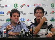 Entrevista coletiva com Evandro Leitão e Dimas Filgueiras