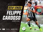 Reforço pro Brasileiro: Ceará acerta com atacante Felippe Cardoso