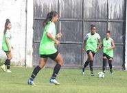 Futebol Feminino: Ceará continua preparação para o jogo contra o Cruzeiro