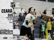 Futsal Adulto: Ceará inicia a venda de ingressos para a grande final do primeiro turno contra o Eusébio