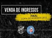 Bahia x Ceará: Torcedor já pode garantir seu ingresso para jogo de ida da decisão