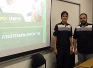 Fisioterapeutas do Ceará palestram em lançamento de curso de Pós-Graduação