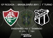 Vozão vai em busca de vitória inédita contra o Fluminense, no Brasileirão