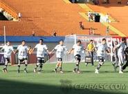 Ceará sai na frente, toma virada e perde para o Atlético/GO