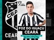 Copa do Brasil: Em partida única e inédita, Ceará enfrenta o Foz do Iguaçu fora de casa