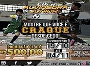 Vai começar a Copa de Futsal da criançada