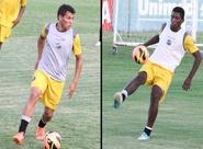 Gabriel e Jailton renovaram contrato com o Vozão