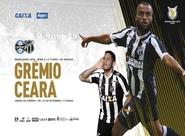 Pelo Brasileirão, Ceará enfrenta o Grêmio em Porto Alegre