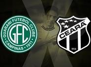 Diante do Guarani, Ceará busca primeira vitória