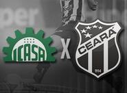 Buscando a terceira vitória seguida, Ceará encara o Icasa