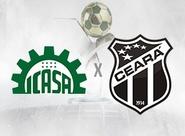 Buscando a recuperação na Série B, Ceará enfrenta o Icasa