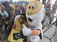 Vozão Social: Ceará faz visita especial à Unidade de Abrigo de Idosos Olavo Bilac