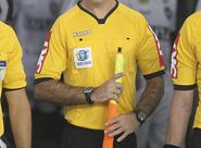 Árbitro Diego Pombo apitará a partida entre Ceará e Fortaleza
