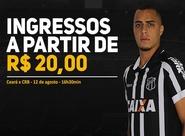 Garanta já seu ingresso para partida entre Ceará x CRB