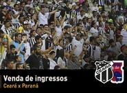 Ceará x Paraná: Nesse domingo, venda de ingressos continua na Sou Mais do Shopping Aldeota