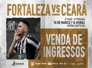 100 anos de Clássico Rei: Ingressos para a partida entre Fortaleza e Ceará já estão à venda