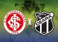 Pela Copa do Brasil, Ceará encara o Internacional/RS