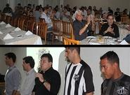 Marcos Aurélio foi apresentado ao torcedor no jantar Convocação Alvinegra