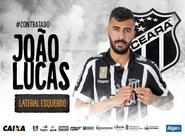 Lateral esquerdo João Lucas fecha com o Ceará para a disputa da Série A