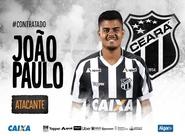 Vozão acerta a contratação do atacante João Paulo