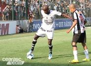 Com dois homens a menos, Ceará arranca empate na garra diante do Atlético/MG